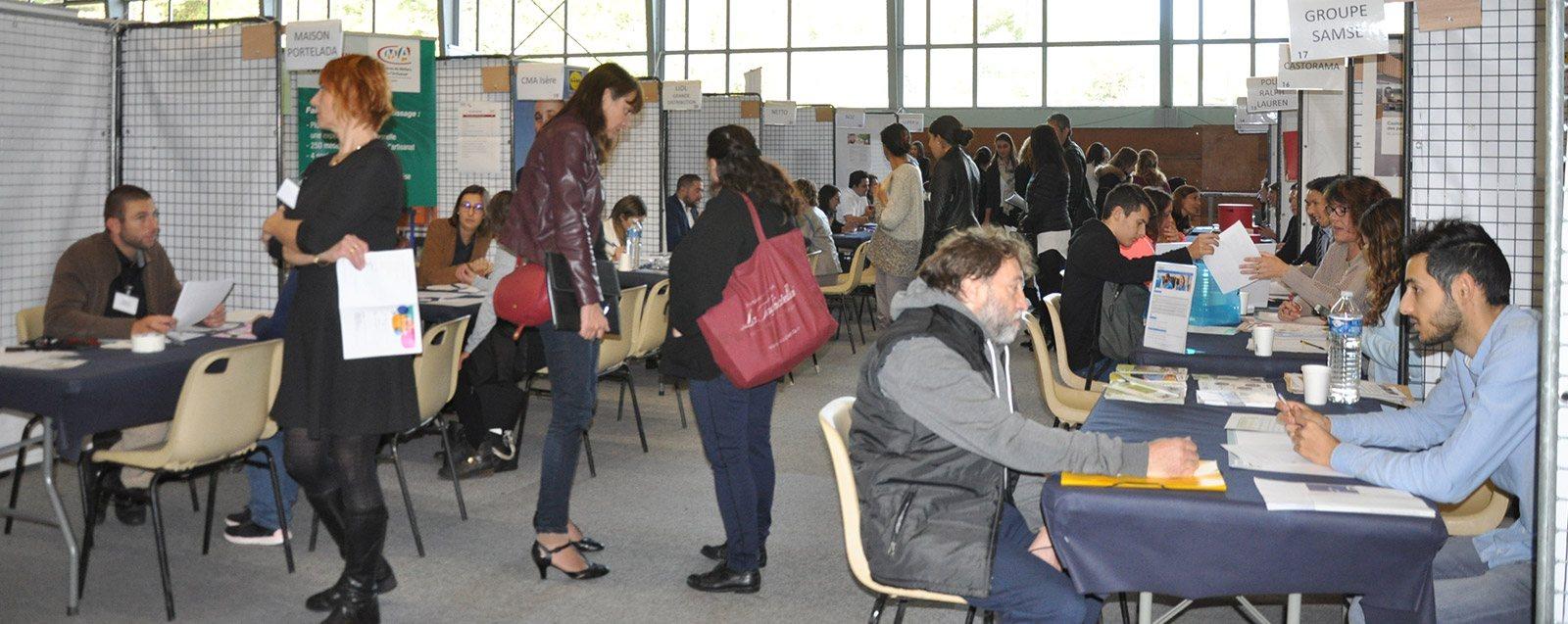 Forum de l'emploi du 11 octobre 2018 à Villefontaine