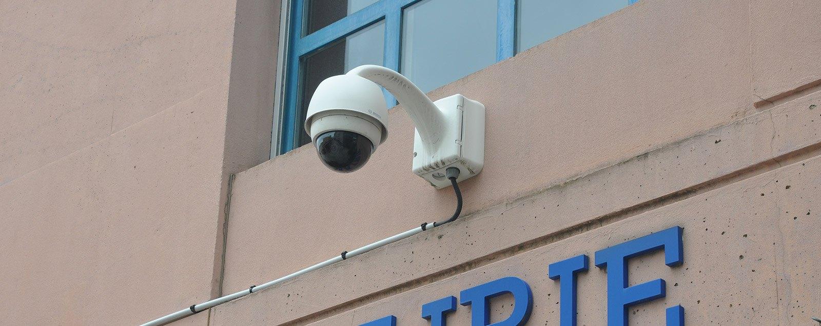 Ville vigilante, Caméra de surveillance, mairie de Villefontaine