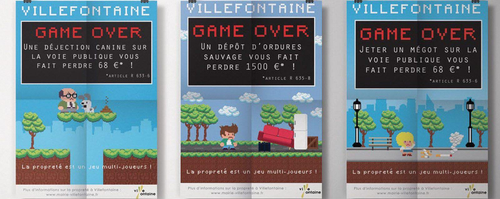 Campagne propreté Villefontaine