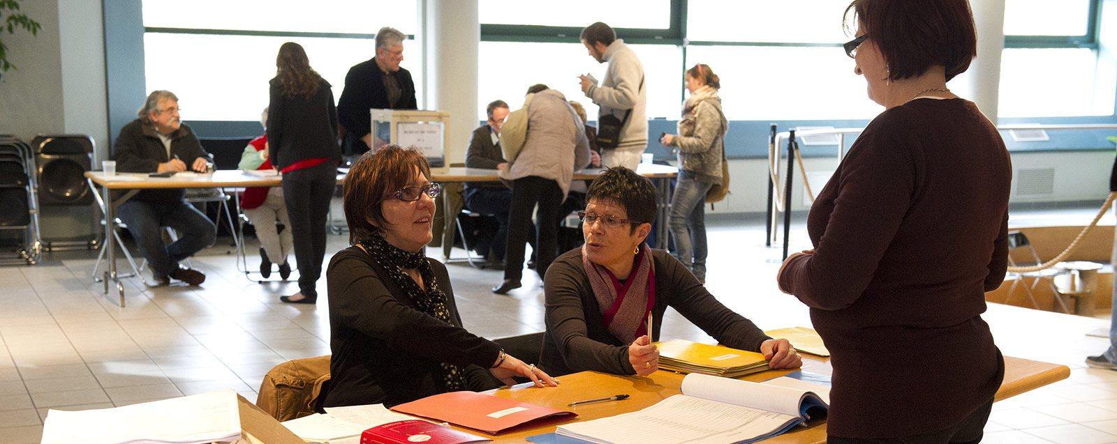 Bureau de vote élections Villefontaine