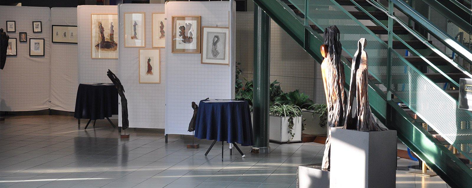 Exposition galerie Hôtel de Ville Villefontaine