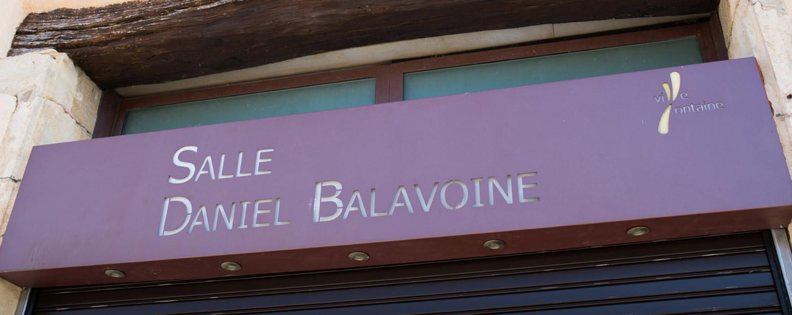Salle de spectacle Balavoine à Villefontaine