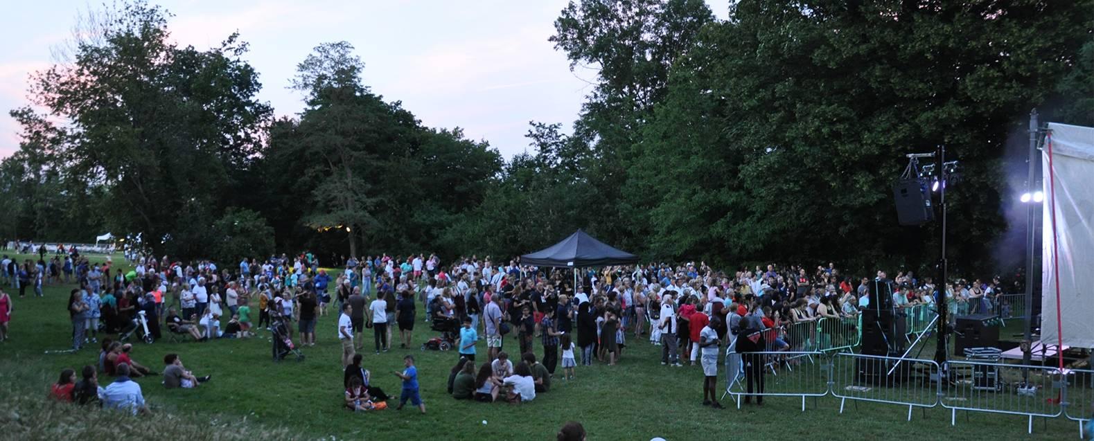 Fête de la musique, Parc du Vellein - © Mairie de Villefontaine