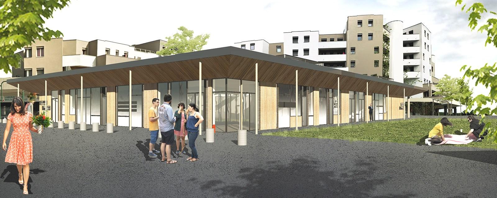 Villefontaine – Grand projet de centre-ville - Le Patio