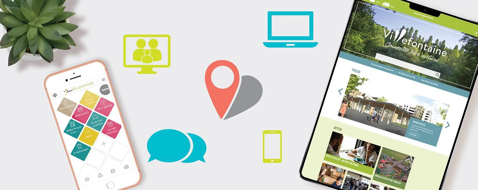 Site et application mobile