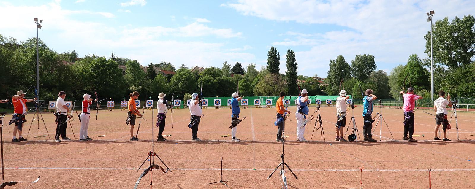 Association de Tir à l'arc Villefontaine, compétition du 25 mai.