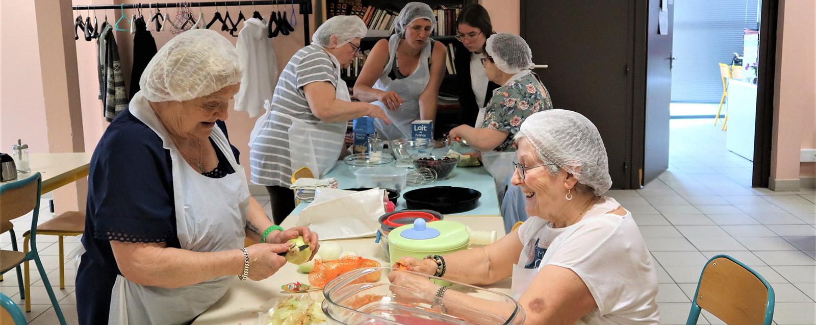 Atelier cuisine du Phare, juin 2019