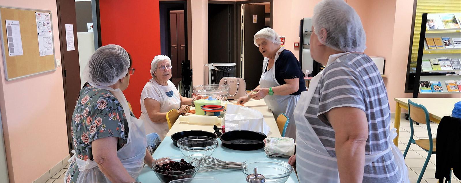 Atelier cuisine au Phare, juin 2019