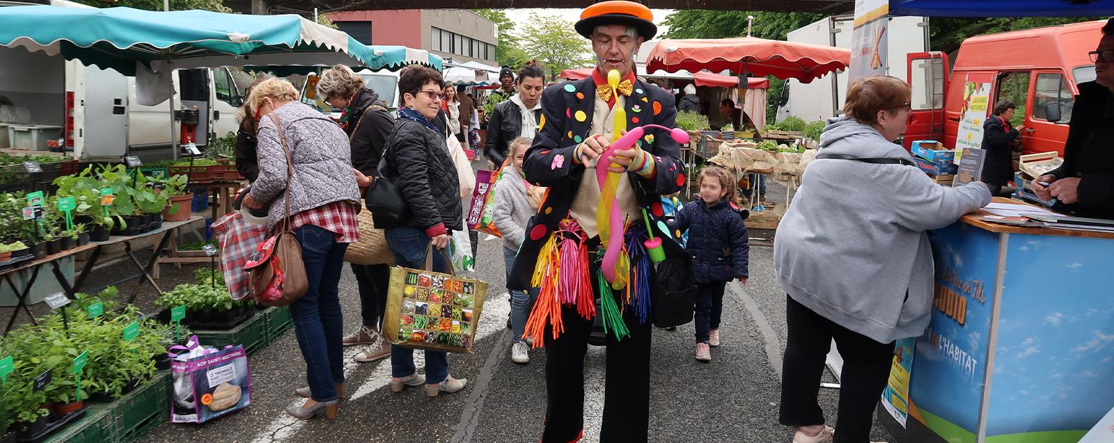 animations au marché du samedi - rue du midi