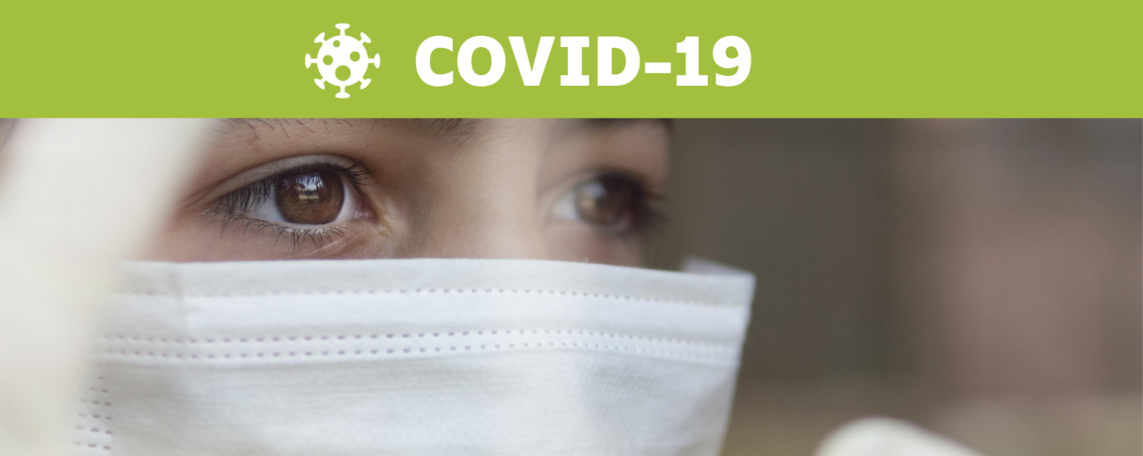 Focus Covid 19 avec bandeau