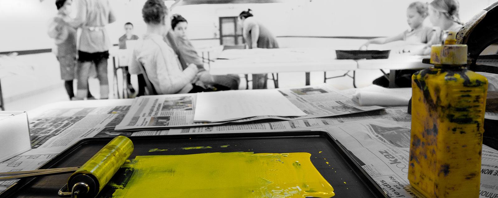 Nouveauté ! Semaine des arts 2020 - © Mairie de Villefontaine