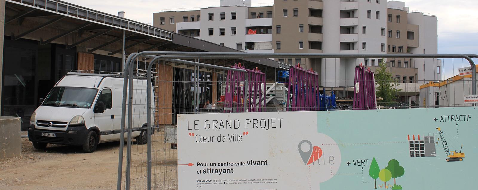 Projet Coeur de ville  ©Mairie de Villefontaine