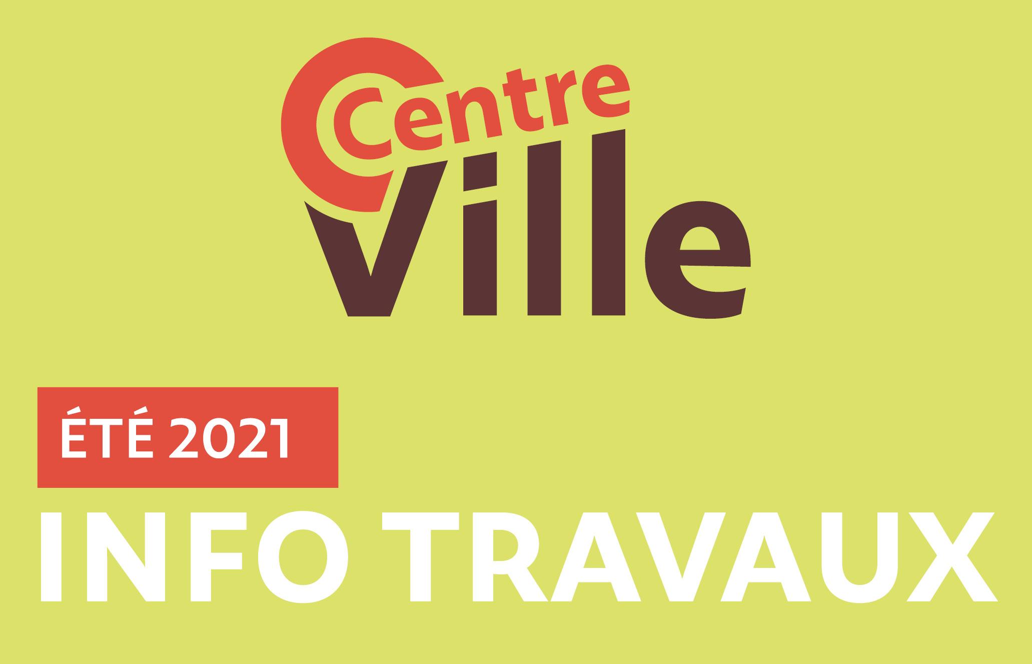Travaux de l'été 2021 centre-ville de Villefontaine