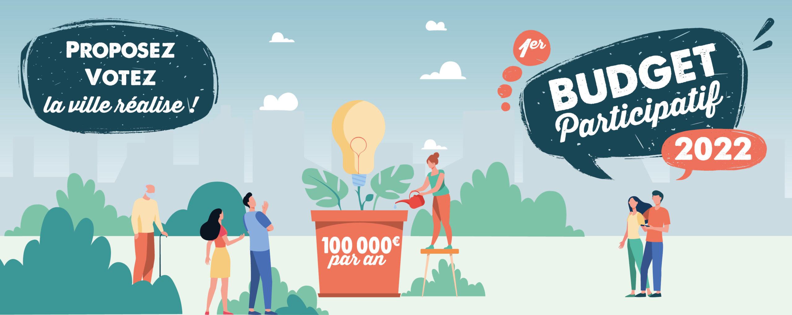 Budget participatif VILLEFONTAINE 2021-22 - focus